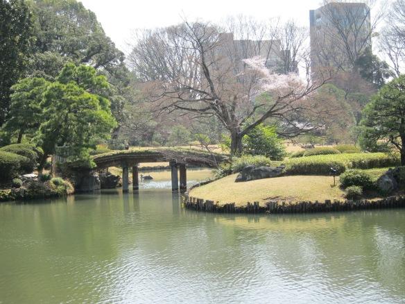 City as borrowed scenery