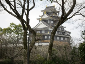 Okayama Castle: borrowed scenery for the garden