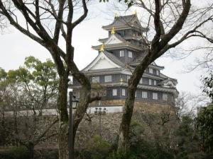 Okayama Castle: borrowed scenery for the garden
