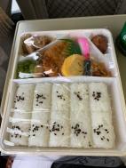 Inside lunch box