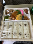 Inside lunch box